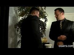 Gay office fuck Jake Morgan, Seth Santoro