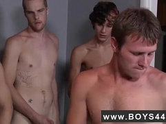Gay black long penis anal sex extreme video Landon banged and jism