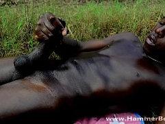 Abu Black monster dick from Hammerboys TV