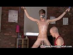 Gay porn bondage emo Twink boy Jacob Daniels is his recent meal