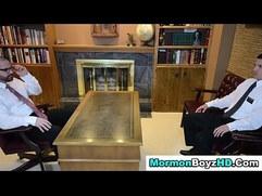 Bear bishop cums on elder