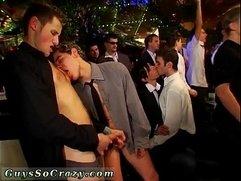 Cum drinking gay twinks gangsta soiree is in utter gear now
