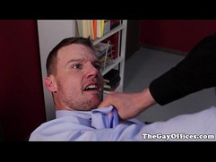 Travis Irons fucked by boss in office
