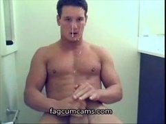 Amateur Jock Cumpilation - fagcumcams.com