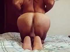 Exercising my butt for my lover