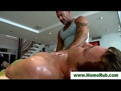 Straight guy gay masseuse seduction