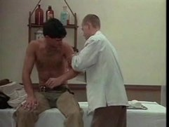 Doctor taking care of patient