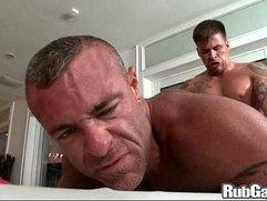 Rubgay Muscle Man On Big Man
