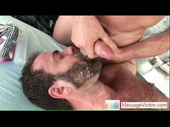 Dodge Wolf gets first gay massage By MassageVictim