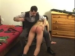 Master spanking his boy Sir Philippe's way; No taboos, No limits