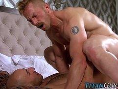 Buff titan sperm soaked