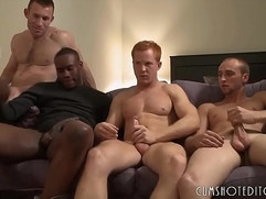 Great Young Studs Group sex Orgy