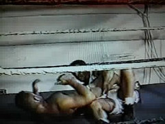 Classic Male Rip n Strip Wrestling.! Scene of