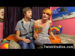 Gay twinks Preston Andrews and Blake Allen feast LollipopTwinks