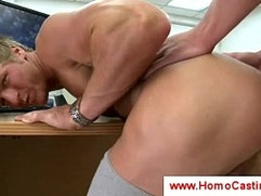 Casting director fucks hunk